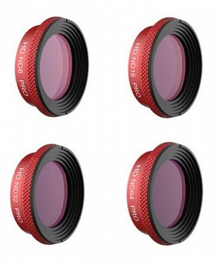Комплект фильтров PGYTECH Pro ND Filter Set for Mavic Air (ND8,ND16,ND32,ND64) P-UN-025
